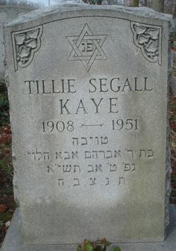 Tillie <i>Segall</i> Kaye