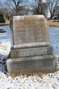 Mary Ann <i>White</i> Green