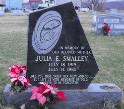 Julia E <i>Smith</i> Smalley