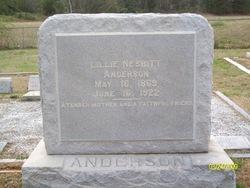 Lilly Lillie <i>Nesbitt</i> Anderson