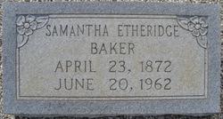 Samantha <i>Etheridge</i> Baker