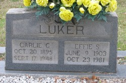 Effie <i>Stephens</i> Luker