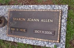 Sharon JoAnn <i>Dickerson</i> Allen