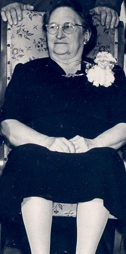 Mary Elmira Mollie <i>White</i> Brown