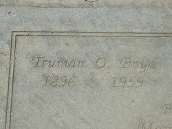 Truman O Boyd