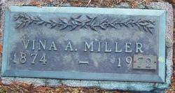 Vina A. <i>Lowe</i> Miller