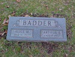 Arthur Ray Badder