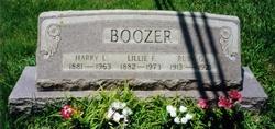 Lillie Florence <i>Klingensmith</i> Boozer