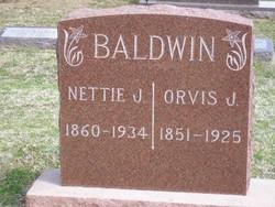 Annetta Jewel Nettie <i>O'Neal</i> Baldwin