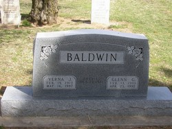 Verna Jean <i>Borrell</i> Baldwin