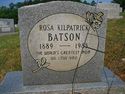 Ruth Rosa <i>Kilpatrick</i> Batson