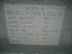 Infant Son Culler