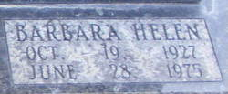 Barbara Helen Gaston