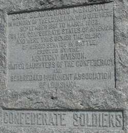 Camp Beauregard Memorial
