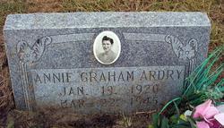 Annie <i>Graham</i> Ardry