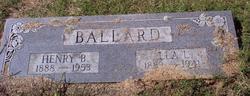 Ella Lee <i>Berry</i> Ballard