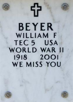 William Francis Buddy Beyer