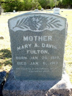 Mary Ann Polly <i>Davis</i> Fulton