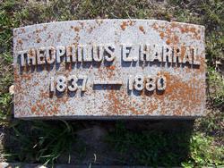 Theophilus Eugene Theo Harral, Sr