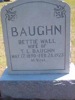 Elizabeth Fields Bettie <i>Wall</i> Baughn