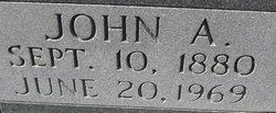 John A Horne