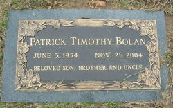 Patrick Timothy Pat Bolan