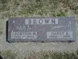 Harry Ralph Brown