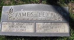Gertrude <i>Adams</i> Lear