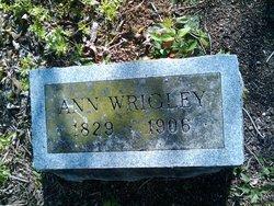 Ann <i>Gayle</i> Wrigley