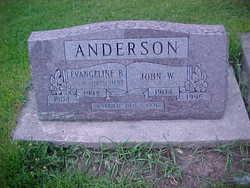 Evangeline B <i>Clavadatscher</i> Anderson