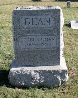 Ethel L. <i>Doman</i> Bean