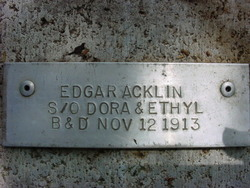 Edgar Acklin