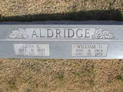William O O'Neal Aldridge