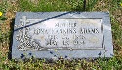 Edna <i>Hankins</i> Adams