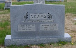 Lillie Burton <i>Clark</i> Adams