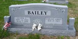 Earline <i>Lomax</i> Bailey
