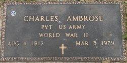 Pvt Charles Ambrose