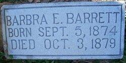 Barbara E Barrett