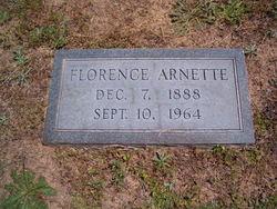 Sarah Florence Arnette