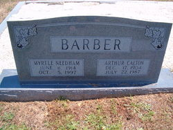 Myrtle Jane <i>Needham</i> Barber