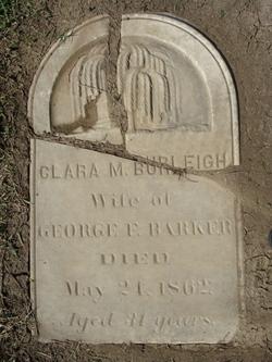 Clara M. <i>Burleigh</i> Barker