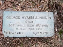 George Hyrum Johnson