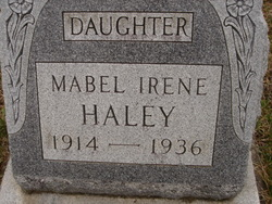 Mabel Irene Haley