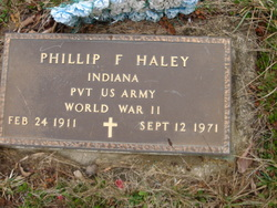 Pvt Phillip F. Haley