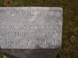 Orpha M. Haley