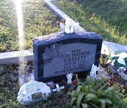 Etta Parthene (Teanie) <i>Lewis</i> Coslett