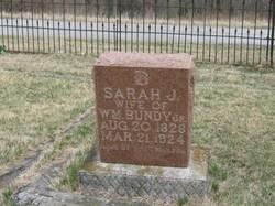 Sarah Jane <i>Cauble</i> Bundy