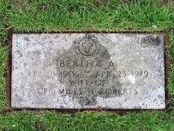 Bertha Almair <i>Walters</i> Roberts