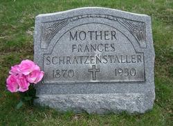 Frances <i>Ebenhoch</i> Schratzenstaller