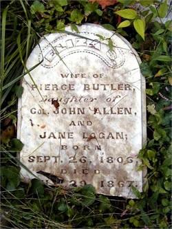 Eliza Sarah <i>Allen</i> Butler